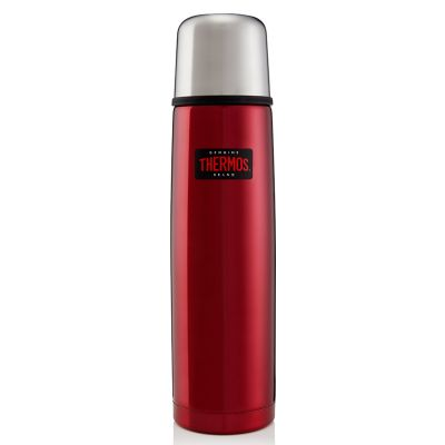 Light and Compact Flask 1.0L -Red