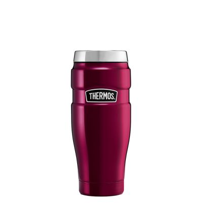Stainless King Travel Tumbler Raspberry