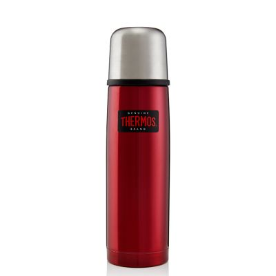 Light and Compact Flask 500ml -Red