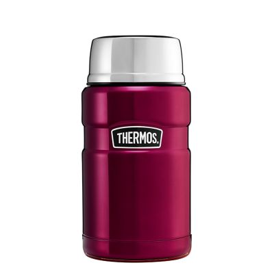 Stainless King Food Flask 710ml Raspberry