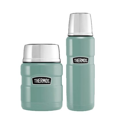STAINLESS KING™ FOOD FLASK  / FLASK SET