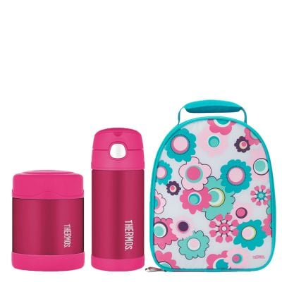 FUNTAINER® FOOD FLASK / BOTTLE SET / LUNCH KIT SET