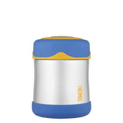 Kids Stainless Steel Food Flask 290ml -Blue
