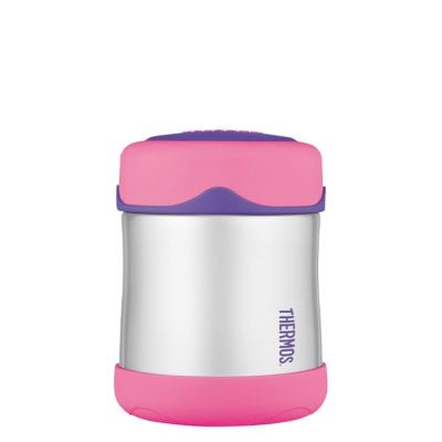 Kids Stainless Steel Food Flask 290ml -Pink