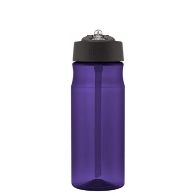 Hydration Bottle with Straw 530ml-Deep Purple