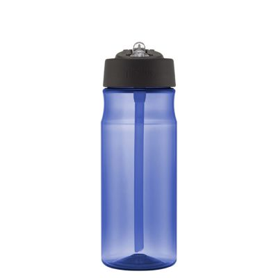 Hydration Bottle with Straw 530ml-Blue