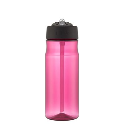 Hydration Bottle with Straw 530ml-Magenta