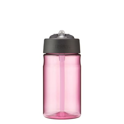 Hydration Bottle with Straw 355ml-Pink
