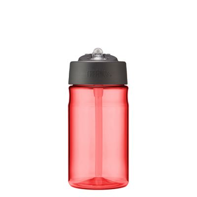 Hydration Bottle with Straw 355ml-Red