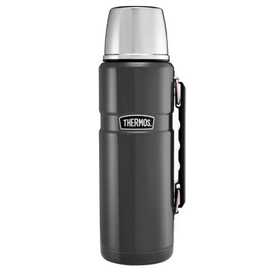 Stainless King™ Flask 1.2L-Gun Metal