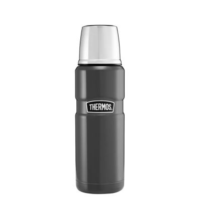 Stainless King™ Flask 470ml-Gun Metal