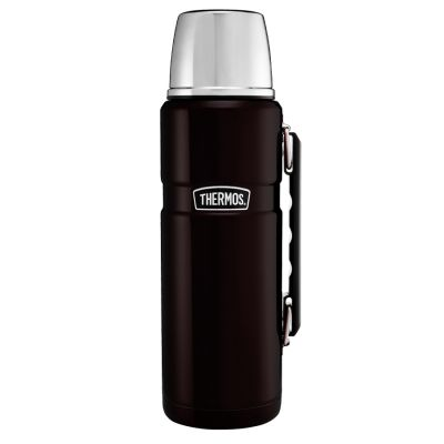 Stainless King™ Flask 1.2L-Matt Black