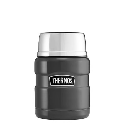 Stainless King™ Food Flask 470ml -Gun Metal