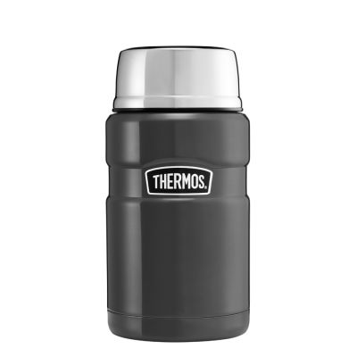 Stainless King™ Food Flask 710ml-Gun Metal