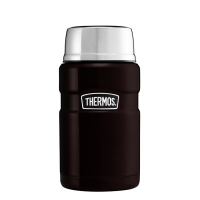 Stainless King™ Food Flask 710ml-Matt Black