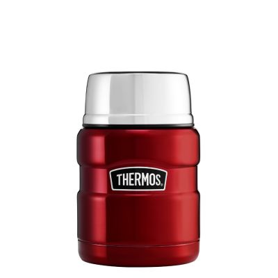 Stainless King™ Food Flask 470ml -Red