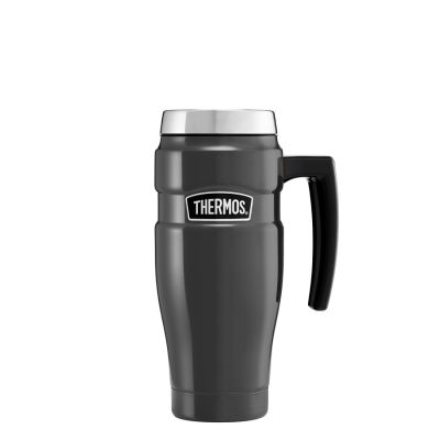Stainless King™ Travel Mug 470ml -Gun Metal