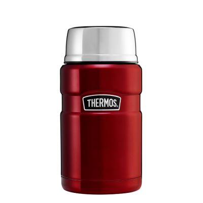 Stainless King™ Food Flask 710ml-Red
