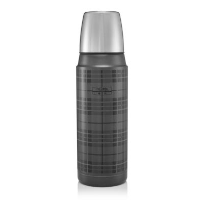 Retro Series Flask 470ml-Tartan Grey
