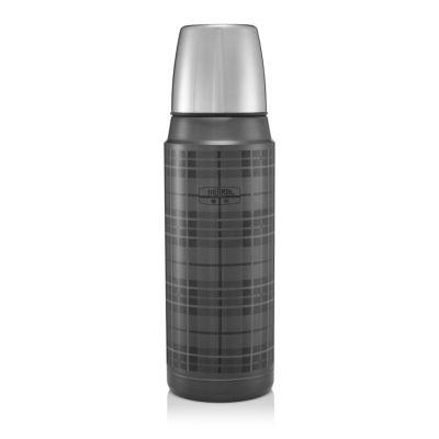 The Retro Flask 470ml-Tartan Grey