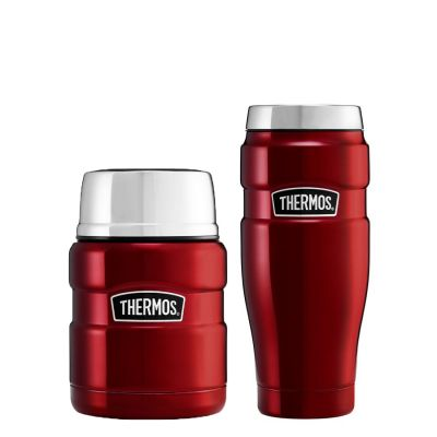 STAINLESS KING™ FOOD FLASK  / TUMBLER SET