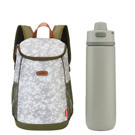 The Urban Insulated Backpack / Guardian Series Hydration Bottle Set