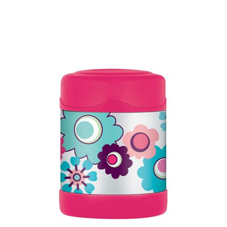 FUNtainer® Food Flask 290ml Floral
