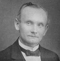 Reinhold Burger circa 1900