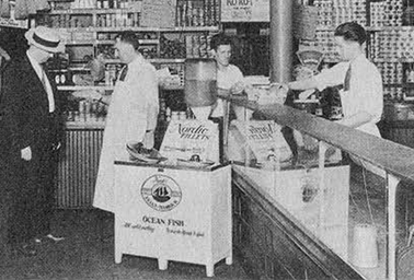 In 1929, Thermos was manufacturing vacuum containers for the storage of frozen fish.